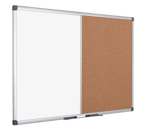 מגניב לוח מחיק משולב עם משטח שעם בגודל 80/120 – מסגרת אלומיניום BQ-69